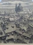 Stretti Viktor - Pražské střechy