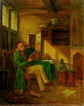 Učenec s knihou