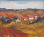 Vondráček Josef - Krajina s vesničkou