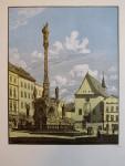 Vik Karel - Morový sloup v Olomouci
