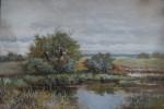 Jaroš Petr - Krajina s rybníkem