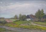 Hůrka Otakar - Krajina s domkem