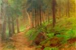 Havelka Roman - Lesní interier se zvěří