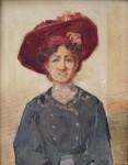 Köhler Jano - Portrét dámy