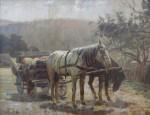 Melnikov Ivenovič Fjodor - Koňský povoz