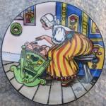 Fischerová - Kvěchová Marie  - Malovaný talíř
