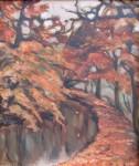 Čechová ( Liebscherová) Zdeňka - Podzim