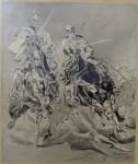 Vacátko Ludvík - Útok kavalerie