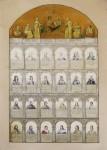 Malovaný rodokmen Habsbursků